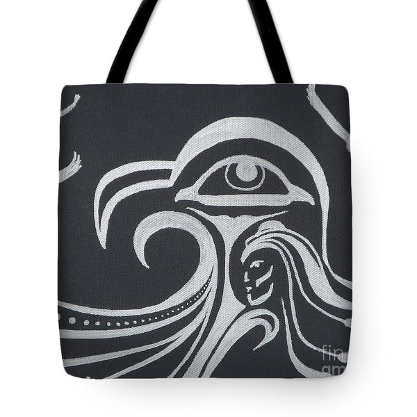 Ocean Eagle Eye Tote Bag by A Cyaltsa Finkbonner