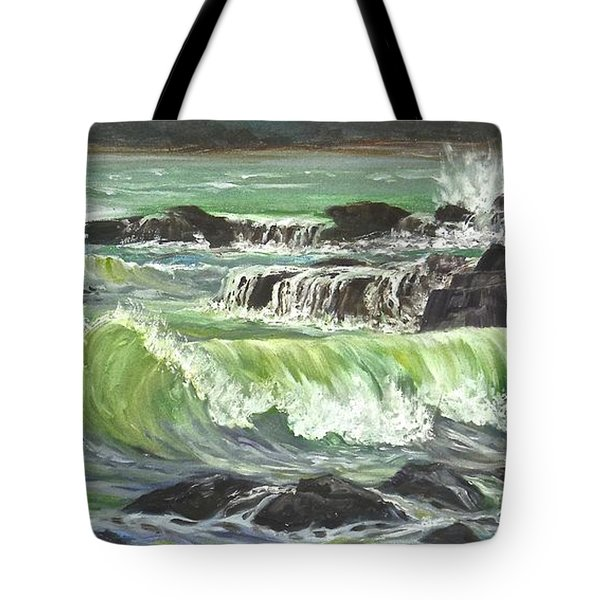Ocean Emotion Lajolla Cove Tote Bag