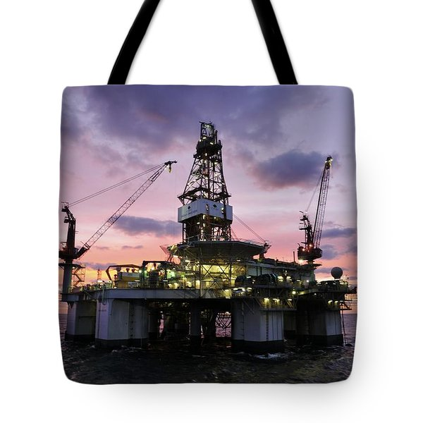 Ocean Endeavor At Sunrise Tote Bag