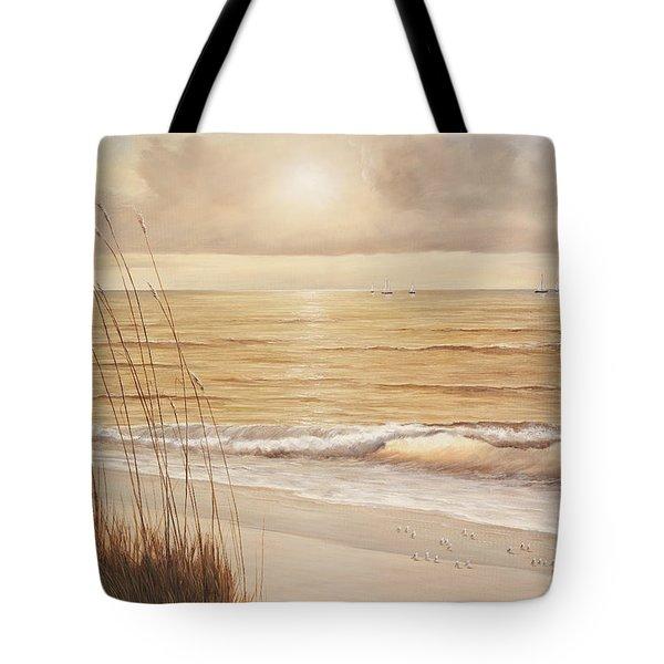 Ocean Glow Tote Bag by Diane Romanello