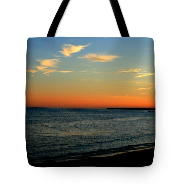 Ocean Hues No. 2 Tote Bag by Neal Eslinger