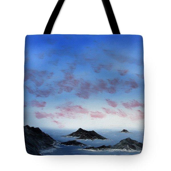 Ocean Islands Tote Bag
