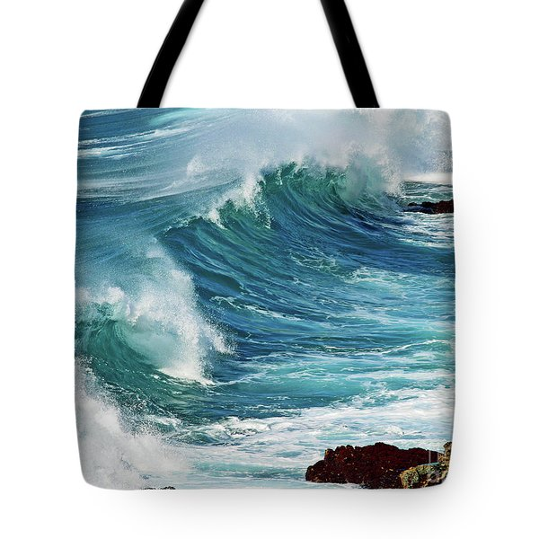 Ocean Majesty Tote Bag by Patricia Griffin Brett