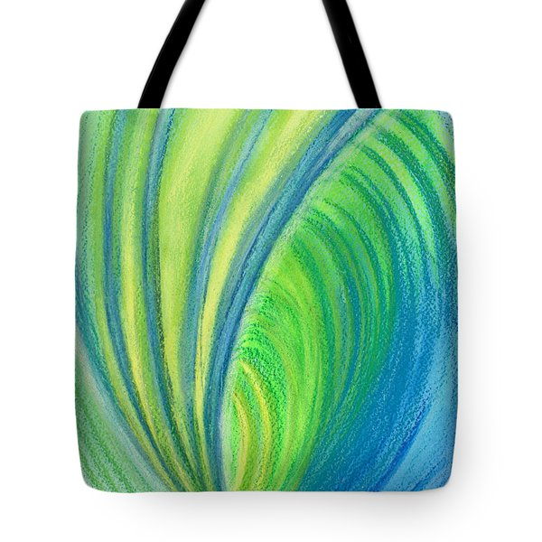 Ocean Of Dark And Light Tote Bag