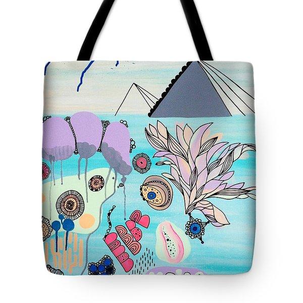 Ocean Parade Tote Bag by Susan Claire