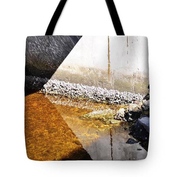 Ocean Photography - Under The Bridge 2 - By Sharon Cummings Tote Bag
