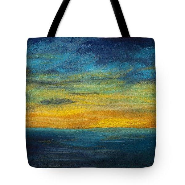 Ocean Sunset Tote Bag by Dana Strotheide
