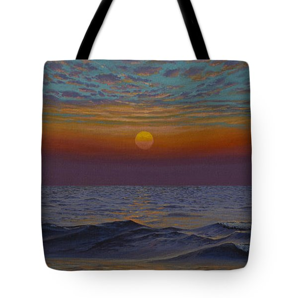 Ocean. Sunset Tote Bag