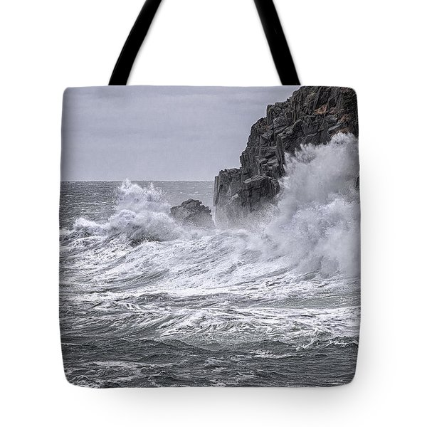 Ocean Surge At Gulliver's Tote Bag