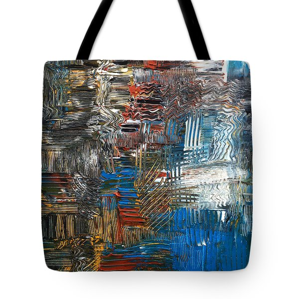 Ocean Tide Tote Bag by Rebecca Davis