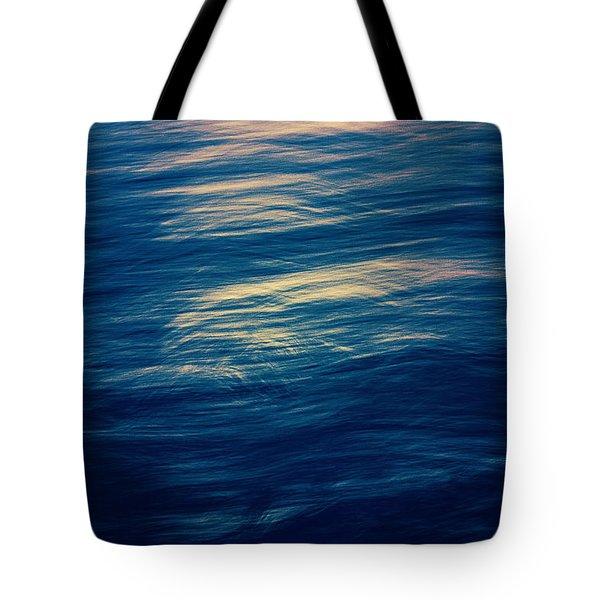 Tote Bag featuring the photograph Ocean Twilight by Ari Salmela