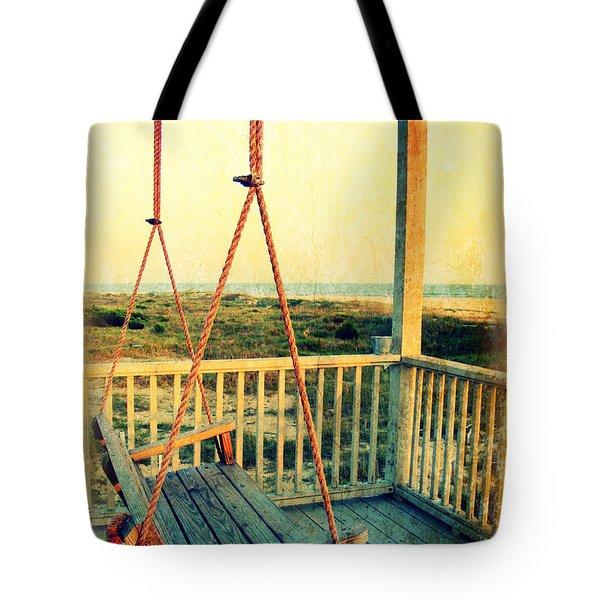 Ocean View At Oak Island 2 Tote Bag