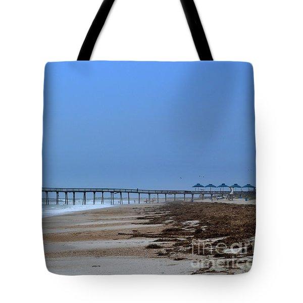 Oceanic Pier Tote Bag