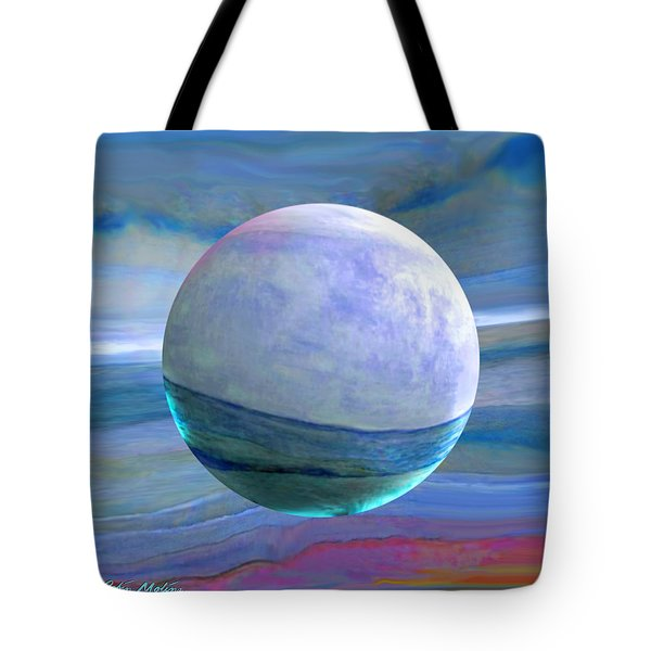 Tote Bag featuring the painting Oceans by Robin Moline