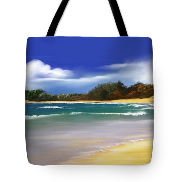 Oceanside Dream Tote Bag by Anthony Fishburne
