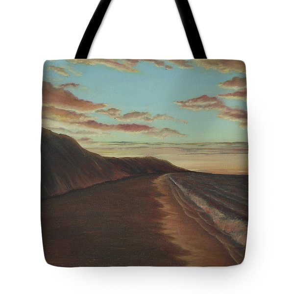 Oceanside Sunset Tote Bag