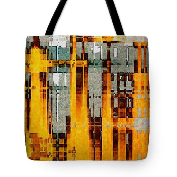 Ochre Urbanity Tote Bag