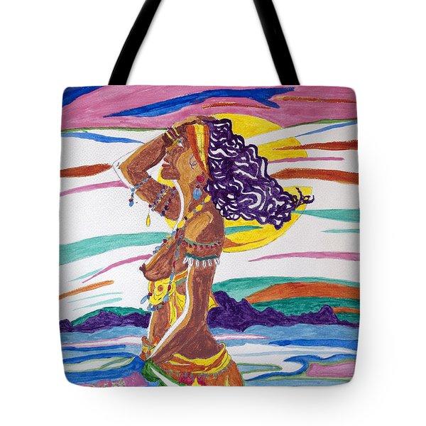 Ochun  Tote Bag by Stormm Bradshaw
