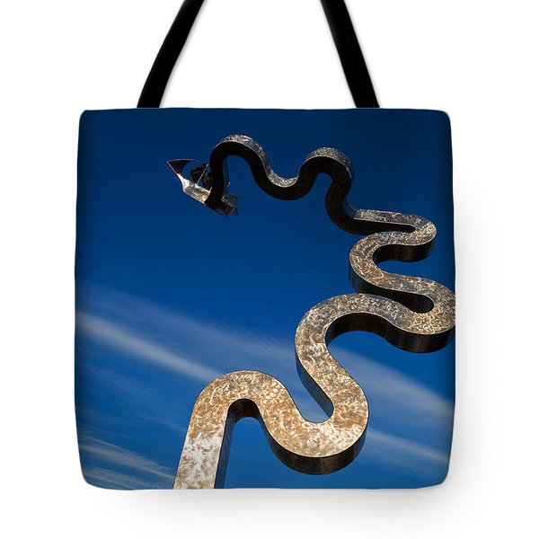 Oconnor Sculpture, Grattan Quay Tote Bag