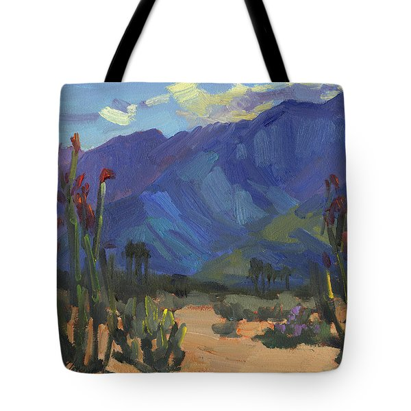 Ocotillos At Smoke Tree Ranch Tote Bag