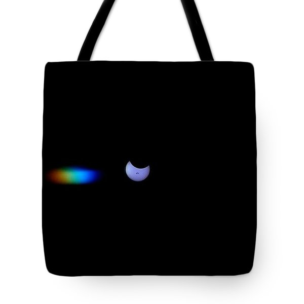 October 2014 Partial Solar Eclipse Tote Bag