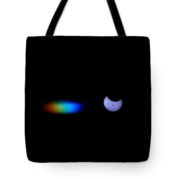 October 2014 Partial Solar Eclipse Tote Bag