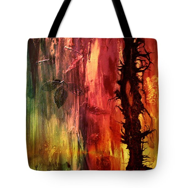 October Abstract Tote Bag by Patricia Motley