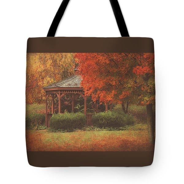 October At Deer Path Park Tote Bag