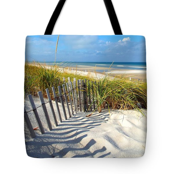 Tote Bag featuring the photograph October Beach by Dianne Cowen