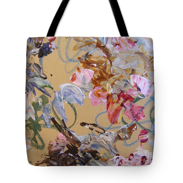 Tote Bag featuring the painting October Glow 1 by Nancy Kane Chapman