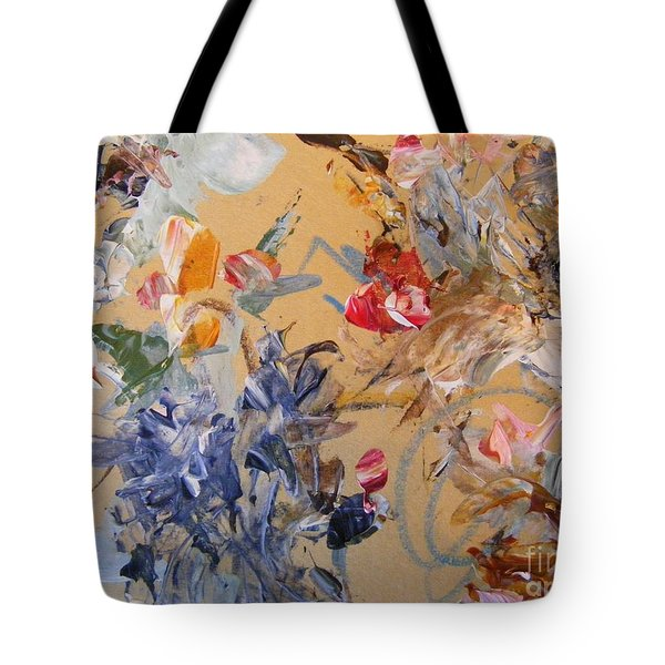 Tote Bag featuring the painting October Glow 2 by Nancy Kane Chapman