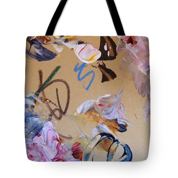Tote Bag featuring the painting October Glow 3 by Nancy Kane Chapman