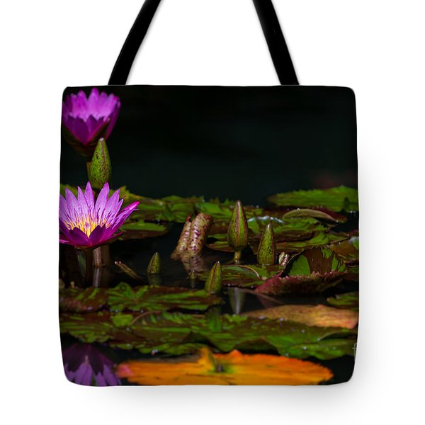October Lilies 2 Tote Bag
