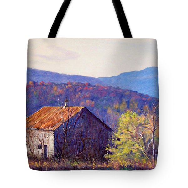 October Morning Tote Bag by Bonnie Mason