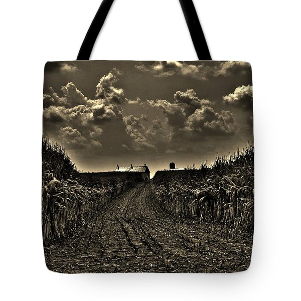 October Sky Tote Bag by Robert Geary