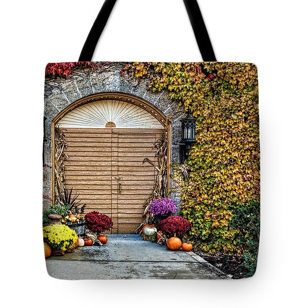 October Welcome Tote Bag