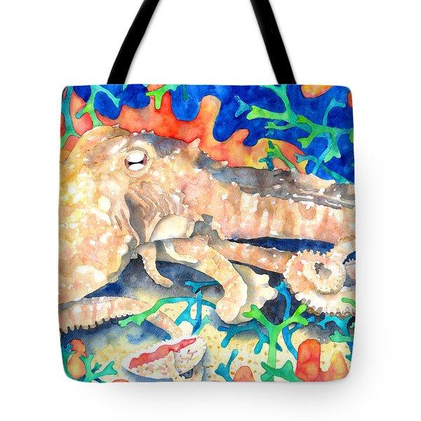 Octopus Delight Tote Bag