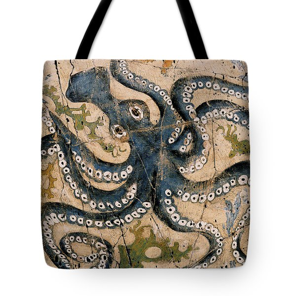 Octopus - Study No. 2 Tote Bag by Steve Bogdanoff