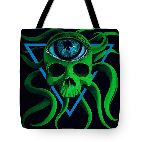 Ocupus Tote Bag by Steve Hartwell