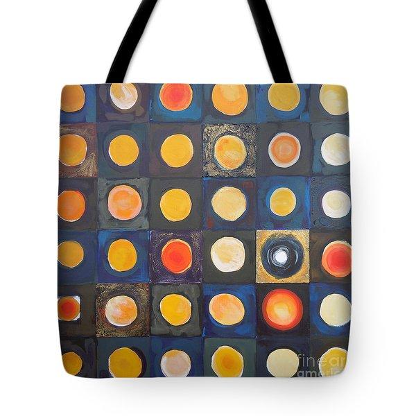 Odd Ball Tote Bag