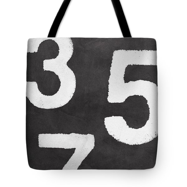 Odd Numbers Tote Bag