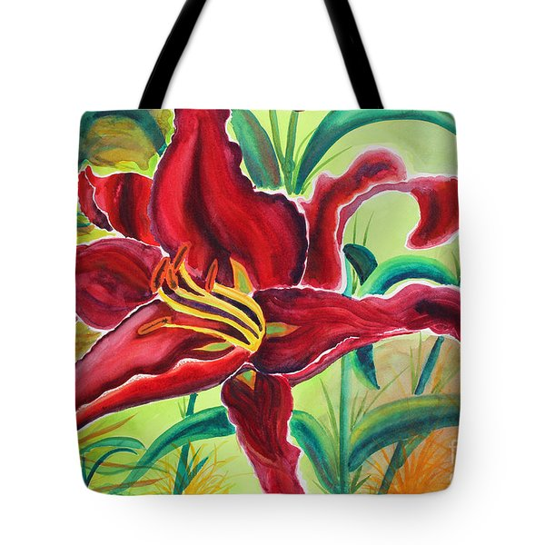 Oddly Twisted Tote Bag by Shannan Peters