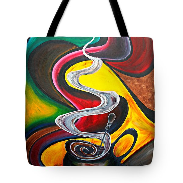 Ode To Coffee... Tote Bag