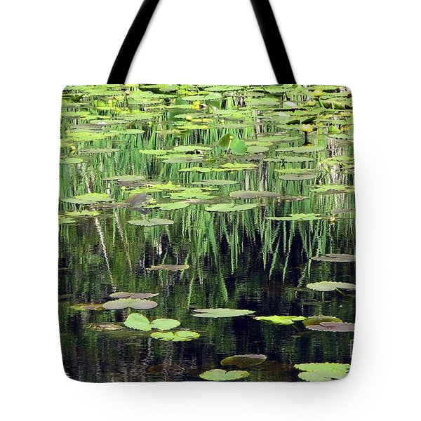 Tote Bag featuring the photograph Ode To Monet by Chris Anderson