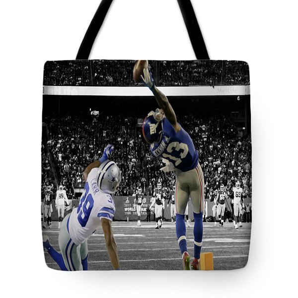 Odell Beckham Greatest Catch Ever Tote Bag