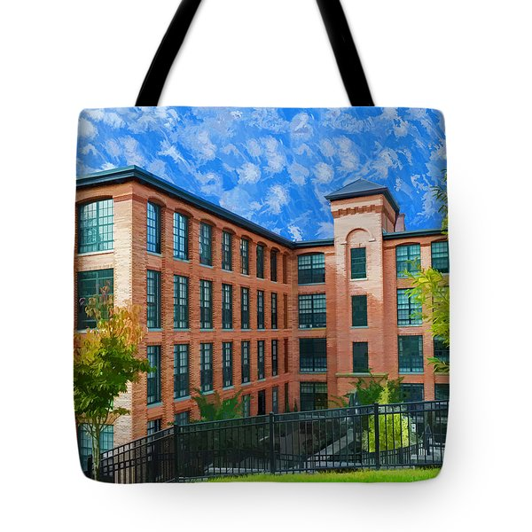 Tote Bag featuring the photograph Oella Mill by Dana Sohr