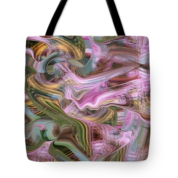 of Angels and Apparitions Tote Bag by rd Erickson