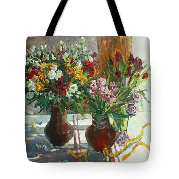 Of Bouquets Plexus Tote Bag