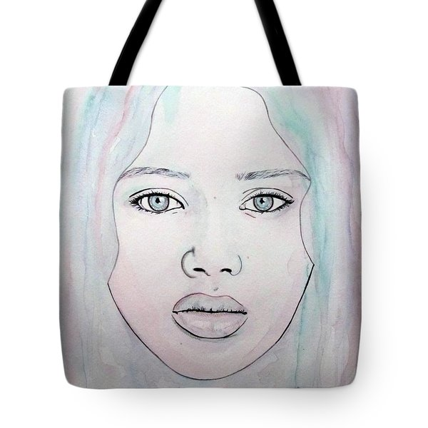 Of Colour And Beauty - Blue Tote Bag by Malinda Prudhomme