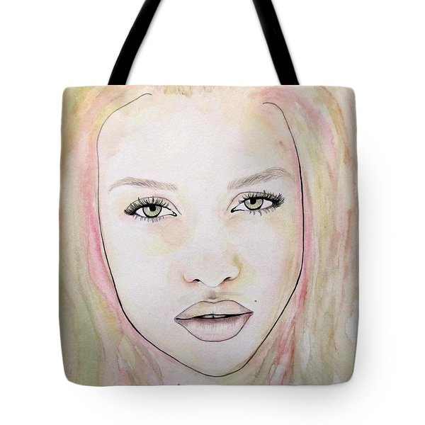 Of Colour And Beauty - Pink Tote Bag by Malinda Prudhomme